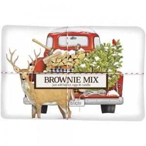 Firewood Truck Brownie Mix