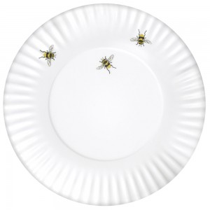 Bee Melamine Plates Set Of 4