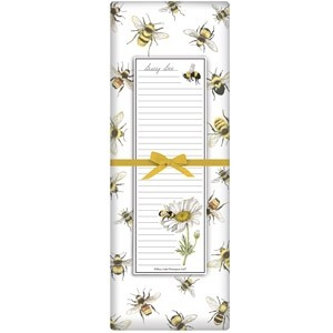 Scattered Bees Notepad Set