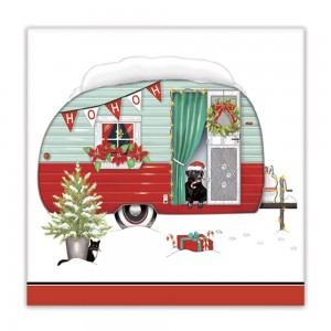 Holiday Camper Paper Napkins
