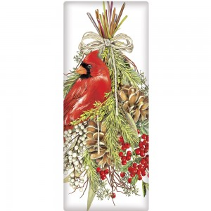 Cardinal Pine Swag Soap Bar