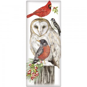 Stacked Winter Birds Soap Bar