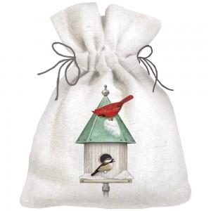 Winter Birdhouses Sack of Soap