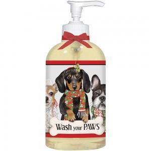 Winter Dog Trio Liquid Soap