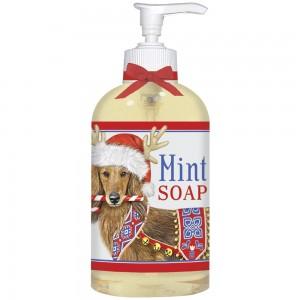 Dachshund Antlers Liquid Soap