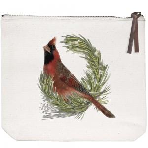 Cardinal Canvas Pouch