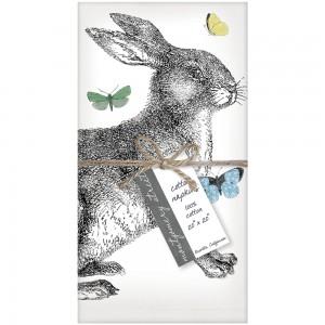 Rabbit & Butterflies Set of 4 Napkins