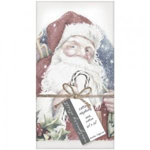 Santa Candy Cane Napkins