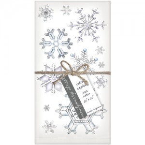 Snowflakes Set of 4 Napkins