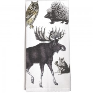 Woodland Creatures Towel