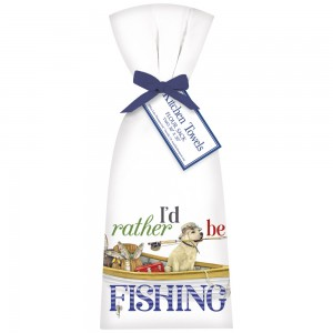 Rather Be Fishing Towel Set