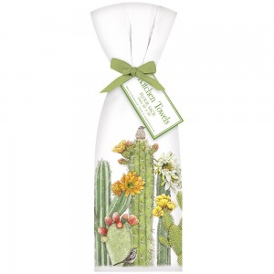 Cacti Blooms Towel Set