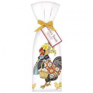 Fancy Hen Towel Set