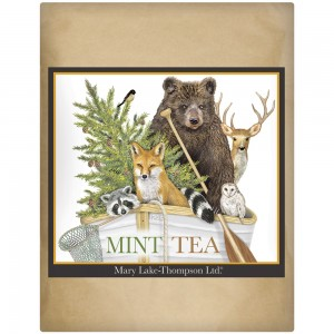 Forest Animal Boat Wrapped Tea