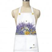 Lavender Pocket Apron