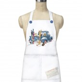 Blue Truck Skis Apron