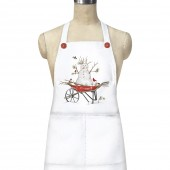 Snowman Wheelbarrow Apron