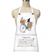 Blue Bike- Flags Apron