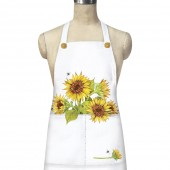Sunflower And Bees Apron