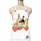 Wine Basket Pocket Apron