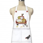 Red Truck Farmhouse Apron
