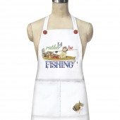 Rather Be Fishing Apron