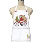 Red Bike Santa Apron