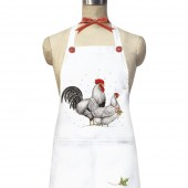 Christmas Chickens Apron