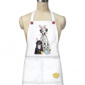 Easter Dalmation/ Cat Apron