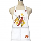 Cardinal Maple Branch Apron
