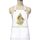 Striped Squash Bird Pocket Apron