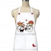Amaryllis Bike Apron