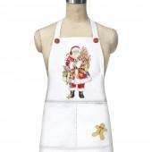 Gingerbread Santa Apron