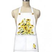Sunflower Finch Apron