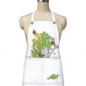 Herb Water Can Apron