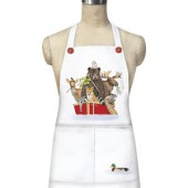Red Animal Boat Apron