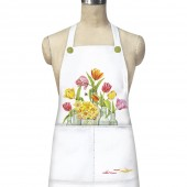 Clear Vases Apron