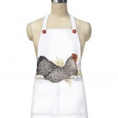 Spotted Hen Pocket Apron