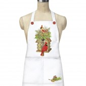Log Cabin Birdhouse Apron