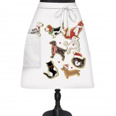 Dog And Cat Holiday Cookies Bistro Apron