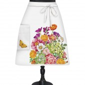 Country Flowers Bistro Apron