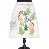 Tree Cookies Bistro Apron