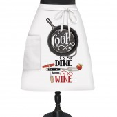 Wine And Dine Bistro Apron