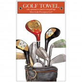 Golf Clubs Large Packaged Towel
