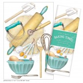 Desert Baking Large Print Towel