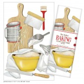 Bread Baking Large Print Towel