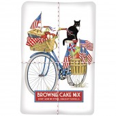 Blue Bike- Flags Brownie Mix