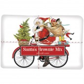 Red Bike Santa Brownie Mix