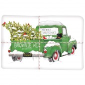Holiday Green Truck Brownie Mix