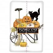 Halloween Wheelbarrow Pumpkin Cake Mix